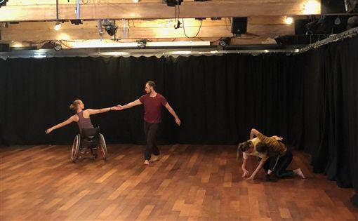 舞蹈,訪英,台灣,身體,障礙