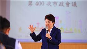 台中市,盧秀燕,宣布,內閣改組,改組團隊(圖/中央社)