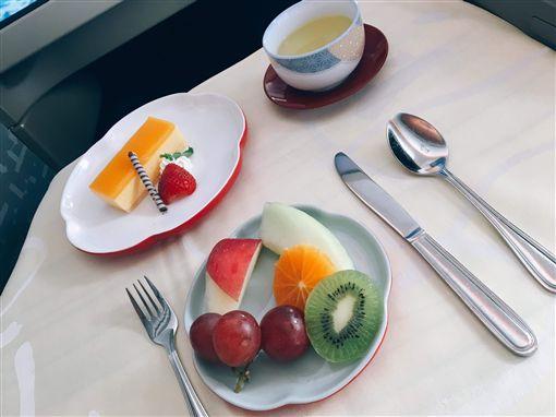 華航飛日本商務艙 飛機餐