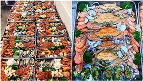 大陸通訊公司華為近年來快速崛起,在全球各地都有分部,日前華為的內部員工餐廳也受到討論,有網友上傳多張大魚大肉的美食照,照片中不乏多種高級海鮮食材,不論是龍蝦還是鮑魚,都在餐盤內,讓員工可以吃的開心。照片流出之後,豐富的菜色也讓網友相當震驚,紛紛羨慕的感嘆「貧窮限制了我們的想像」。(圖/翻攝自微博)