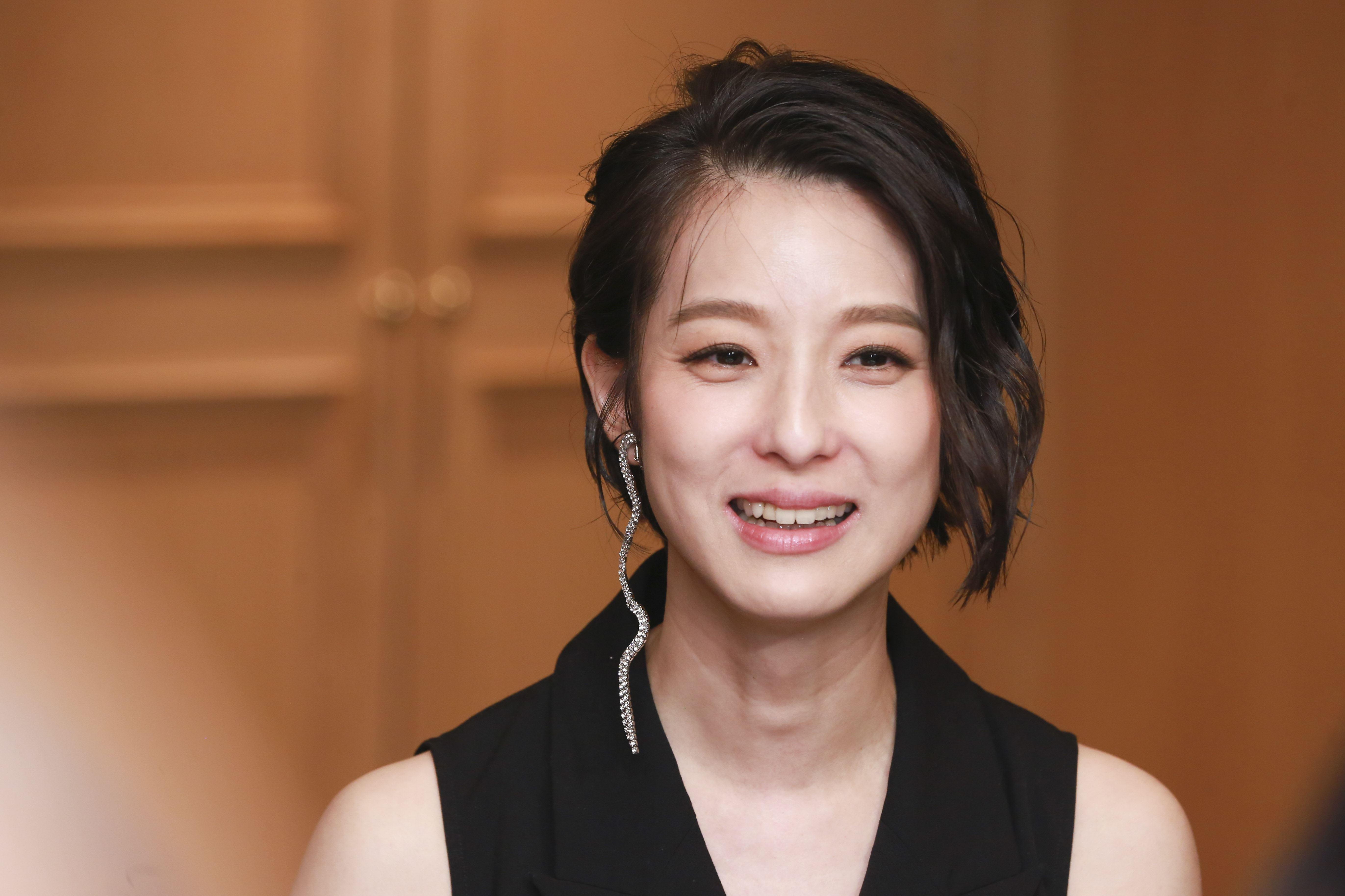 電影《花椒之味》媒體茶會,主演賴雅妍。(圖/記者林士傑攝影)