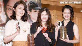 電影《花椒之味》媒體茶會,主演賴雅妍、劉瑞琪,導演麥曦茵。(圖/記者林士傑攝影)