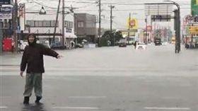 日本,九州,豪雨,線狀對流,災情(圖/翻攝自bbob711推特)