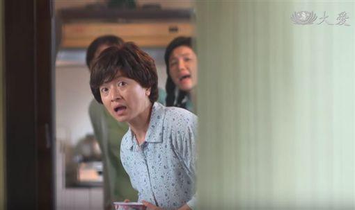 第55屆金鐘獎/謝瓊煖以大愛電視劇《菜頭梗的滋味》中的客串角色「曾繾」入圍女配角獎。翻攝YT