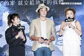 《第九分局》首映會,演員海裕芬、姚元浩、張允曦。(圖/記者林士傑攝影)