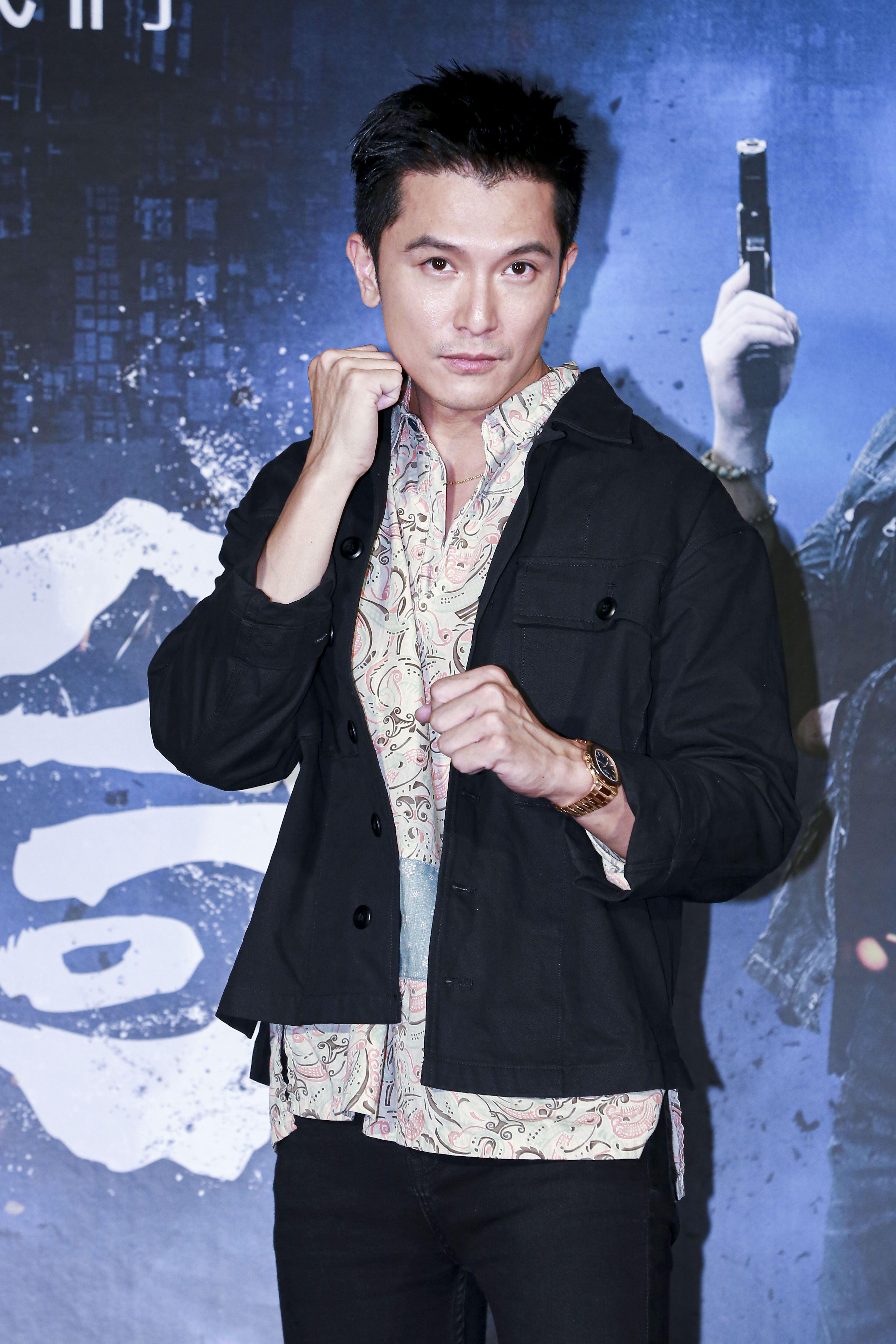 《第九分局》首映會,主演邱澤。(圖/記者林士傑攝影)