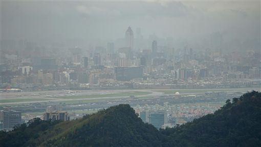 台中市,空氣品質,不良,預警二級防制措施,啟動(圖/中央社)