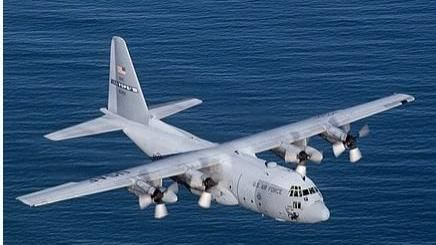 隸屬美國空軍第43空運大隊的C-130E。(圖/翻攝維期百科)