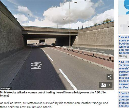 英國,警衛,輕生,悲劇https://www.dailymail.co.uk/news/article-7398169/Biker-49-kills-just-weeks-stopping-woman-jumping-bridge.html