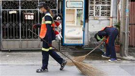 泰國,清潔員,米克斯。(圖/翻攝自reporteris)