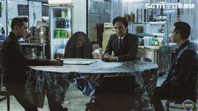 《使徒行者2諜影行動》張家輝、古天樂及吳鎮宇。圖/華映電影提供
