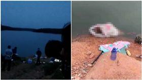 他到水庫釣魚!上鉤的竟是「5歲男童腐爛遺體」(圖/翻攝自微博)