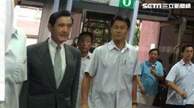 前總統馬英九對自己於323佔領行政院行動,致警民衝突、流血,強調是合法行動,他沒下令所以無罪。(圖/記者楊佩琪攝)