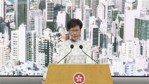 林鄭月娥,北京,撤回逃犯條例,拒絕,平息抗議
