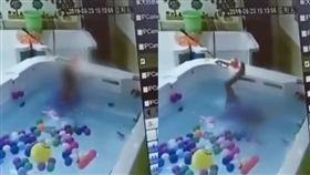 (圖/翻攝自梨視頻)中國,四川,男童,游泳,溺斃