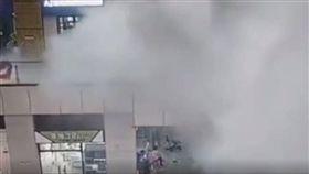 白鹿颱風,積水,商場,意外,死神,廣州,噴飛,