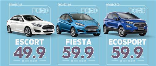 ▲Ford推出9月小資入主方案(圖/Ford提供)