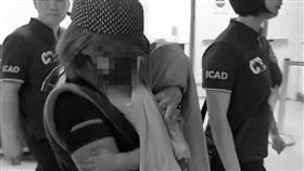 刑事局,伊拉克,Jomaah,男童,返台,台北國際機場。翻攝畫面