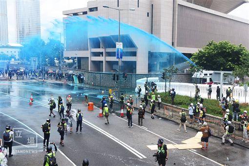 (圖/翻攝自立場新聞)香港,反送中