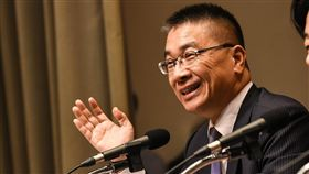 行政院發言人徐國勇主持行政院會議,接任內政部長一職。 (圖/記者林敬旻攝)