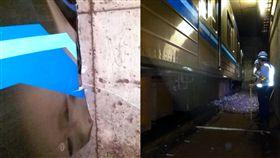 日本,橫濱,列車,出軌,睡著,工作,駕駛,撞牆,煞車,停駛,神奈川,出軌,打瞌睡 圖/翻攝自推特