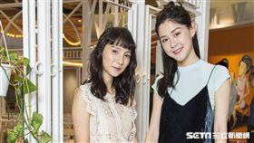 《致親愛的孤獨者》主演張寗、李聿安接受三立新聞網專訪。(圖/記者林士傑攝影)