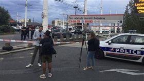 法國第3大城「里昂」附近傳持刀攻擊!釀1死9傷(圖/美聯社/達志影像)