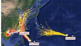 天氣風險管理公司,賈新興,熱帶擾動,颱風,氣象局 圖/翻攝自賈新興臉書