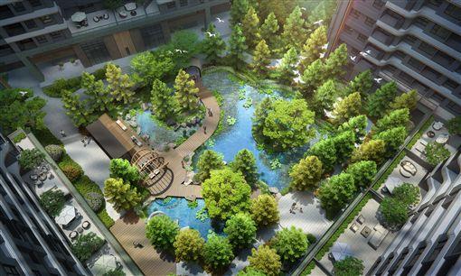林口A7建案華悅城(華悅城提供)