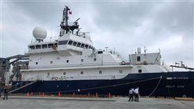 美國新型海研船Sally Ride預計2日啟航停泊於基隆港的美國新型海研船Sally Ride,預計2日啟航前往帛琉海域進行研究。中央社記者吳柏緯攝 108年9月1日