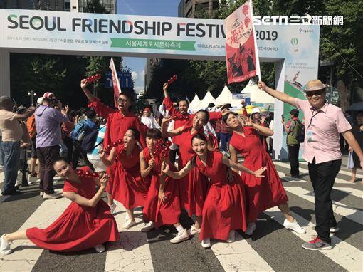 玉舞蹈劇團參加首爾友誼節 北市文化局提供。