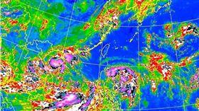 颱風「玲玲」生成朝台進逼 一張圖看懂各國路徑預報 氣象局