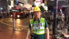中共官媒環球時報總編輯自從8月28日赴港採訪反送中迄今,他密集接受媒體專訪頻頻亮相,為中國立場發聲與辯護。(圖取自胡錫進微博網頁weibo.com/huxijin)