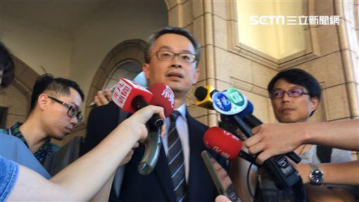 管中閔的委任律師對於宣判結果,表示深感遺憾。(圖/記者楊佩琪攝)