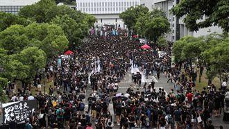 香港915反送中 讓連儂牆遍地開花