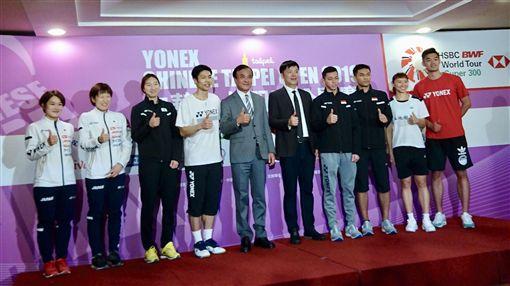 ▲台北羽球公開賽3日將開打。(圖/中華民國羽球協會提供)