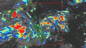 颱風,玲玲,Jason Nicholls,預測,路徑 圖/翻攝自推特