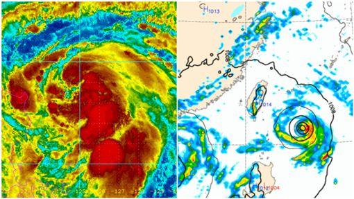 玲玲颱風,颱風,氣象局,天氣/中央氣象局、NOAA