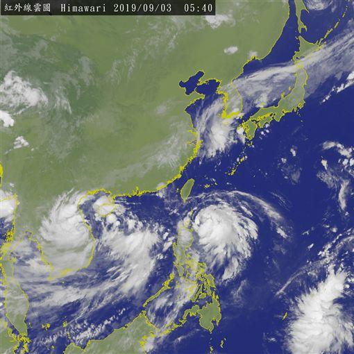 玲玲颱風、劍魚颱風接連生成/中央氣象局