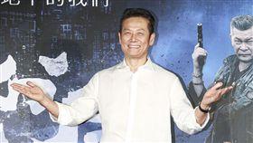 《第九分局》首映會,觀影嘉賓徐乃麟。(圖/記者林士傑攝影)