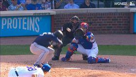 ▲小熊投手威克(Brad Wieck)彈指曲球軌跡超離奇。(圖/翻攝自MLB官網)