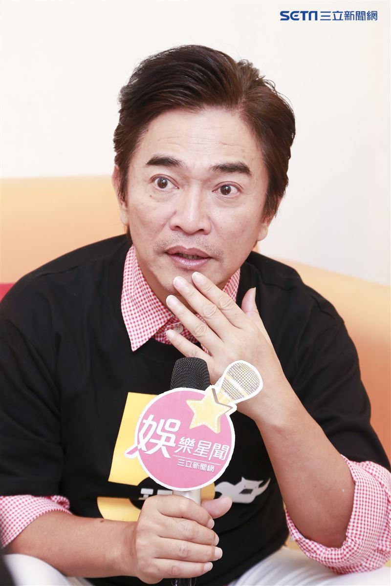 吳宗憲接受三立新聞網專訪。(圖/記者林士傑攝影)