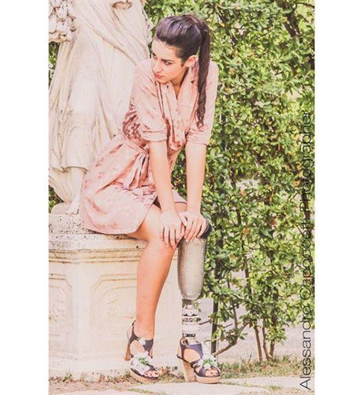 義大利,Chiara Bordi,義大利小姐,義肢,Tarquinia(圖/翻攝instagram/chiarabordi_ )