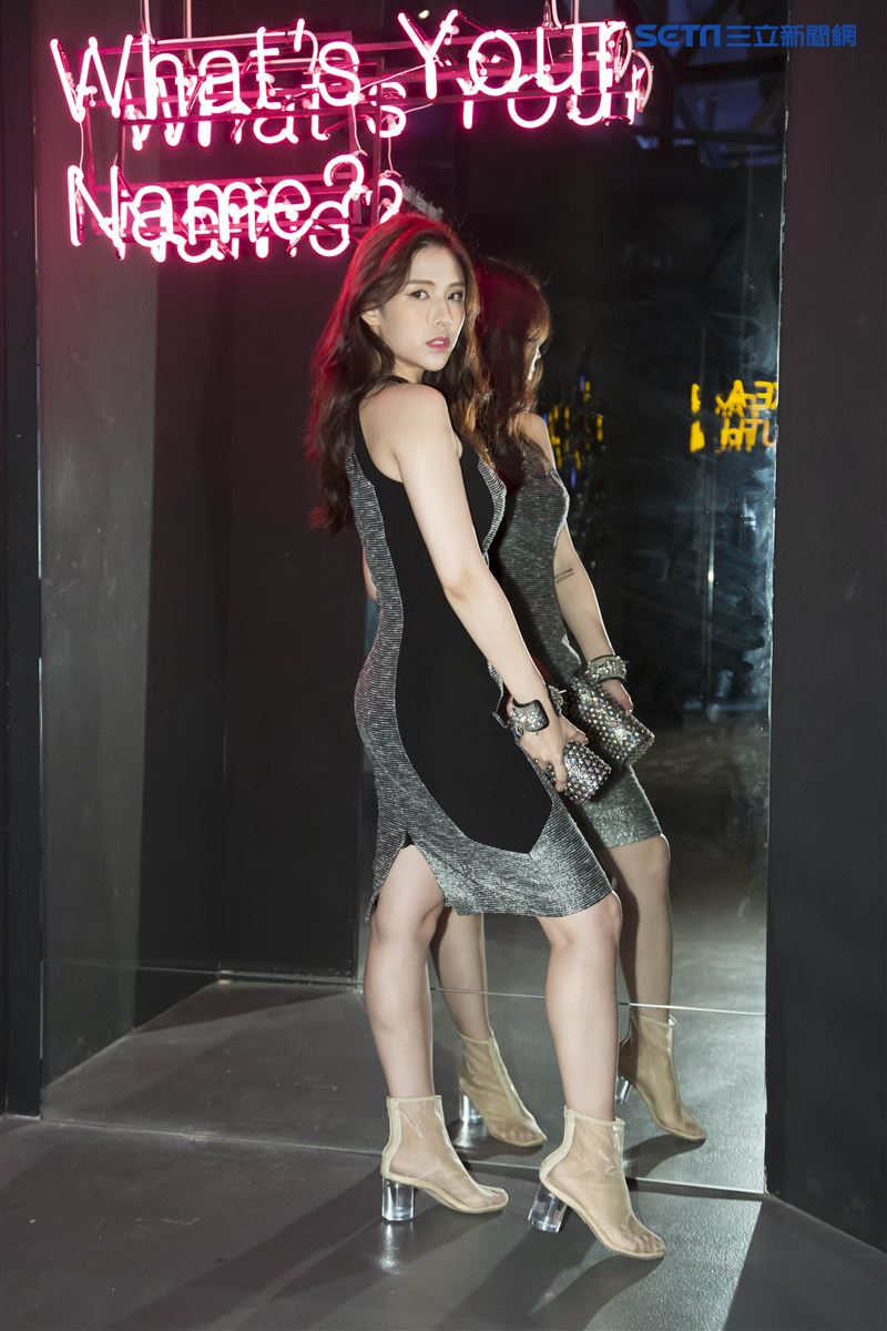 魅力女神拐拐攜手高人氣的夢幻甜美網紅呂妍芯、Ines Wang一起玩穿搭,圖為Ines Wang。(圖/記者林士傑攝影)