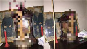 外國人,拜拜,線香,香爐,插香,Dcard 圖/翻攝自Dcard