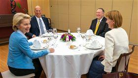 蓬佩奧,布魯塞爾,歐盟,領導人,美國國務卿