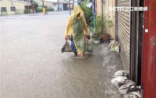 台南,豪雨,淹水,安南區,玲玲