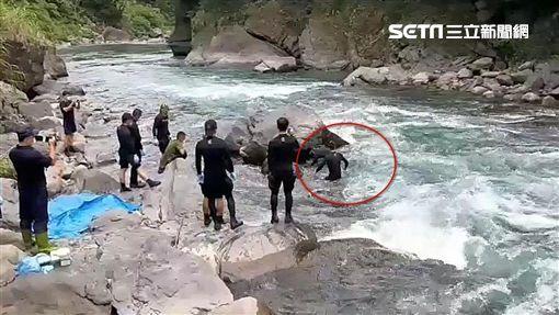 男童,失蹤,落水,烏來,翻攝畫面