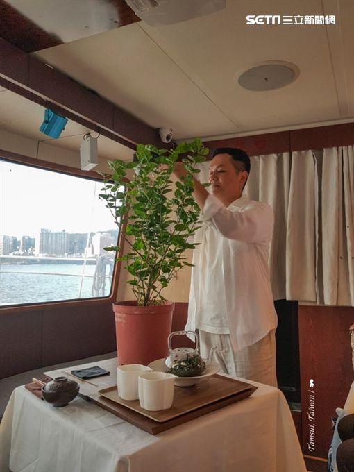 陳耀恩,Ean Chen,之間 茶食器,煙花輕舟茶會,中秋,淡水河,賞月