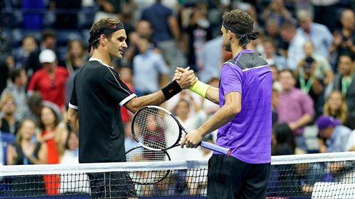 Roger Federer。(圖/翻攝自美網官方推特)